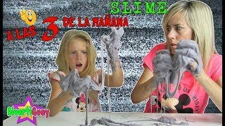 Haciendo SLIME a las 3 de la mañana | Making slime at 3 am | DiveritGuay