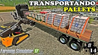 Farming Simulator 17 - Comprando Pallets e Transportando #14