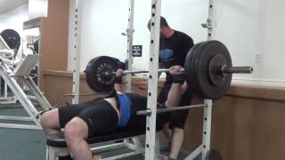 Equipped Bench Press Remy Dufour 16-10-2014