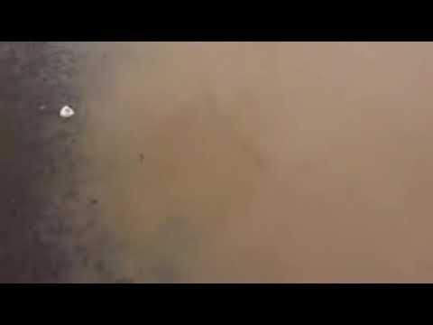 Inundacion en el bulevar Coyuca de Catalan a Cd  Altamirano por tormenta Manuel