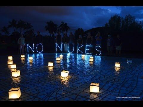 Fukushima 3 Year Anniversary in Hilo Hawaii
