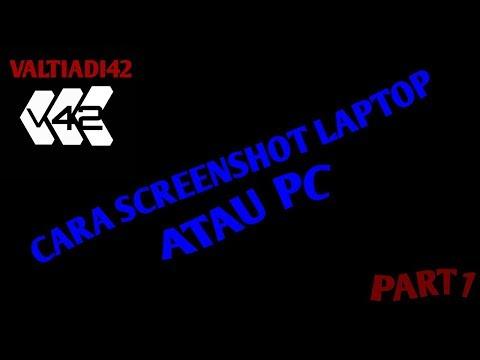 Cara screenshot di laptop atau di pc