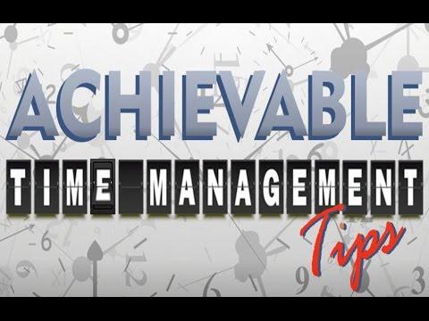 Study Skills - Time Management