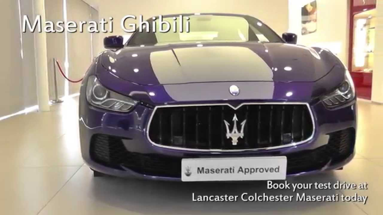 Jardine motors group maserati ghibli lancaster for Jardine motors
