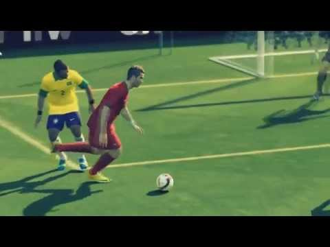 Pes 2014 - Cristiano Ronaldo ( Cr7 ) Vs Neymar Jn. ( Best Goals And Skills) Hd video