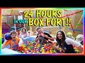 Download 24 HOURS IN A BOX FORT | We Are The Davises in Mp3, Mp4 and 3GP
