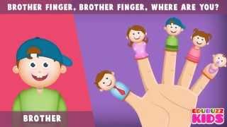 The Finger Family (Daddy Finger) - Original Version   children songs with lyrics