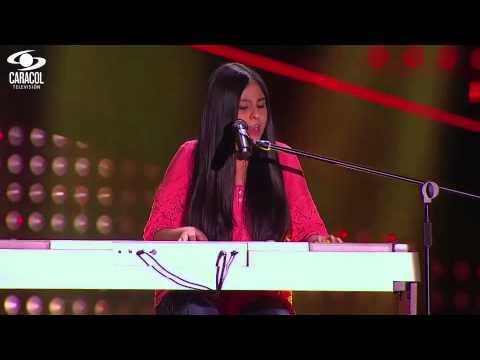 Isabella cantó Flaca' de Andrés Calamaro - LVK Colombia- Audiciones a ciegas - T1