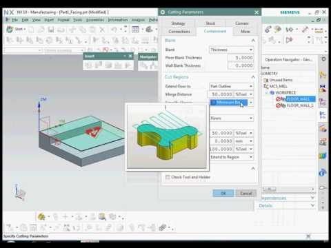 NX CAM tutorial for beginners creating CNC program  part 2