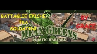 THE MEAN GREENS PLASTIC WARFARE gameplay ITA by GRACE