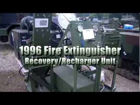 1996 Fire Extinguisher Recovery and Recharger Unit on GovLiquidation.com