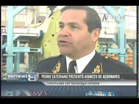 TV 8 AVANCES DE AERONAVES - PRIMERO A LAS 8