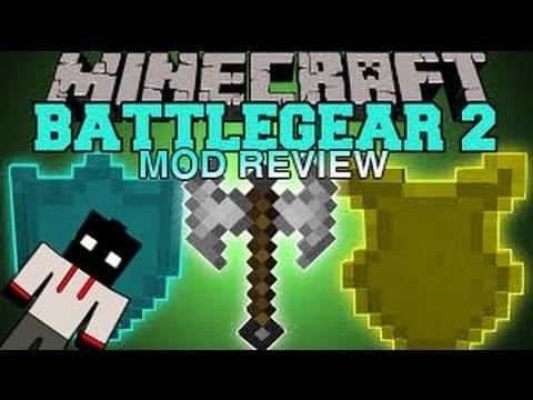 Mod Review : Battlegear2 ~ ( ماين كرافت : مود ( معدات الحرب