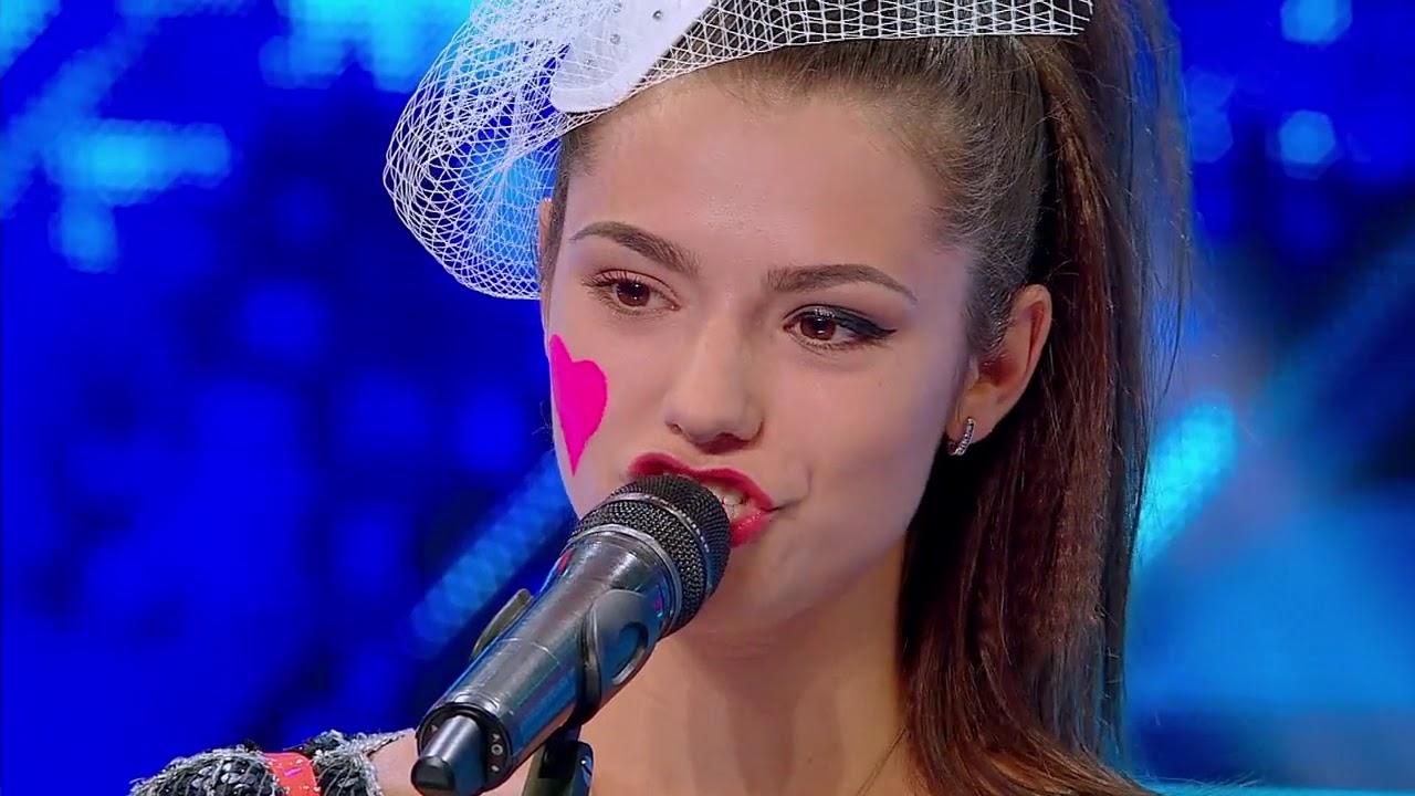 """Onceanu Adriana, prima concurentă căreia """"i se simte lacrima în voce"""""""