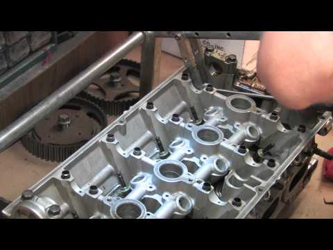 Cylinder Head 104 - Remove Valves & Springs