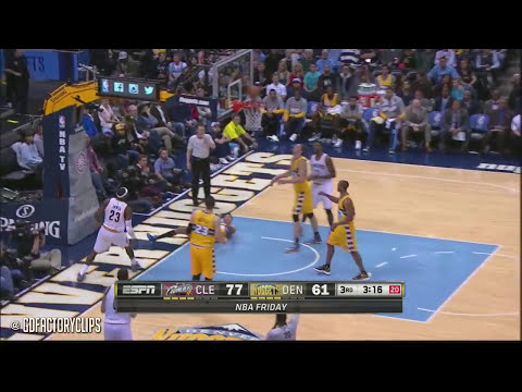 Lebron James Full Highlights at Nuggets (2014.11.07) - 22 Pts, 11 Ast, Great Passing!