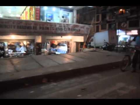Night Rickshaw Ride, Bangalore