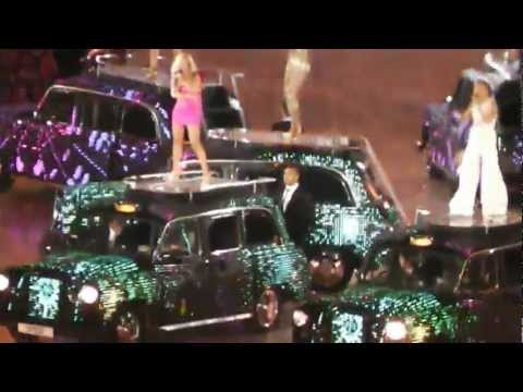 Spice Girls - Wannabe/Spice Up Your Life (Medley) - Live @ London Olympics 2012 Closing Ceremony