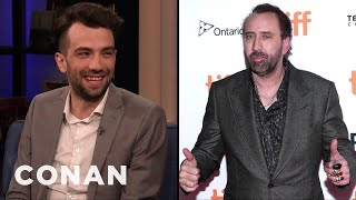 Nicolas Cage Drew Jay Baruchel A Picture Of His Dreams - CONAN on TBS