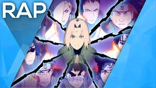 🔴 Rap da Geração vila da folha - Os 12 Genins (Naruto) l Águia l Conjunto 01
