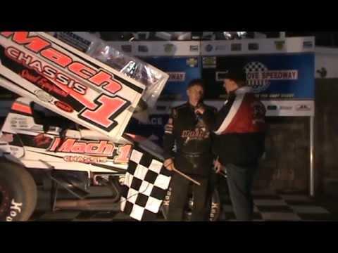 Selinsgrove Speedway 360 Sprint Car Victory Lane 04-04-15