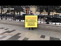 У здания ЦБ в Москве проходит одиночный пикет в поддержку клиентов ТФБ mp3