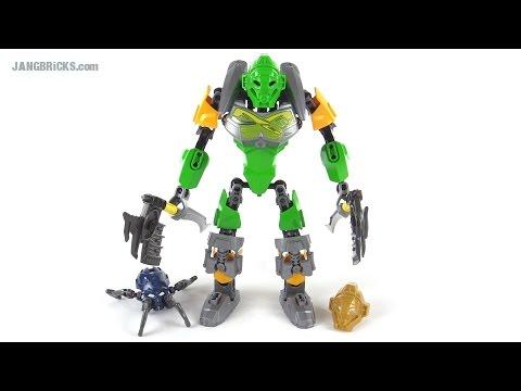 LEGO Bionicle Lewa Master of Jungle review! set 70784
