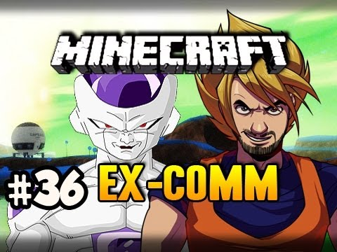 FRIEZA BATTLE - Minecraft: Ex-Comm Dragon Ball Z Mod w/Nova, SSoHPKC & Slyfox Ep.36