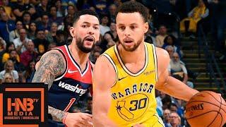 Golden State Warriors vs Washington Wizards Full Game Highlights | 10.24.2018, NBA Season