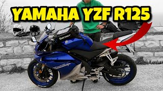 YAMAHA YZF R125 - TEST RIDE