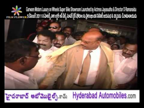 Garware Motors Luxury on Wheels Super Bik Showroom Launched by Dr.D.Ramanaidu
