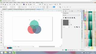 Tutorial Objek Transparan - Corel Draw X7