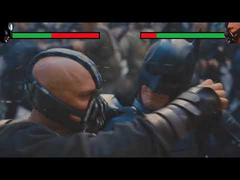 Бэтмен VS Бэйн с хэлспоинтами