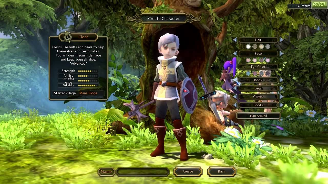 Dragon Nest Character Creation Dragon Nest cn Character