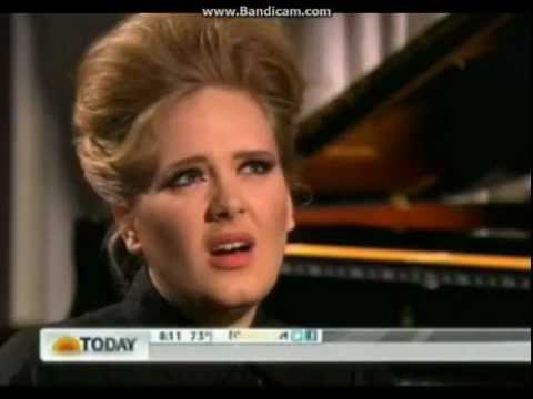Adele interview Today Show 10/05/2012