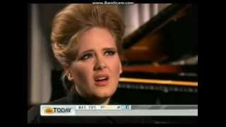 Adele Video - Adele interview Today Show 10/05/2012
