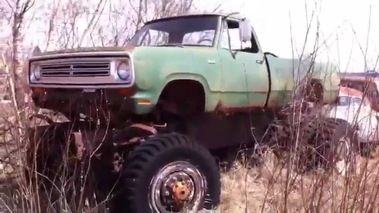 4x4 Old Dodge Military Truck - YouTube