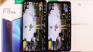 OPPO F11 Pro vs Huawei P30 Lite Speed test and PUBG