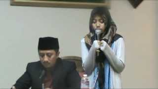 Beautiful Quran Recitation by Wirda Mansur Part 2 - 14 Years Old  - Hafiz 30 Juz