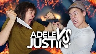 JUSTIN BIEBER VS. ADELE - Frag Josef Special | Joey's Jungle