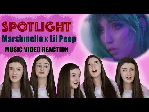 Marshmello x Lil Peep - Spotlight (VIDEO REACTION) #1
