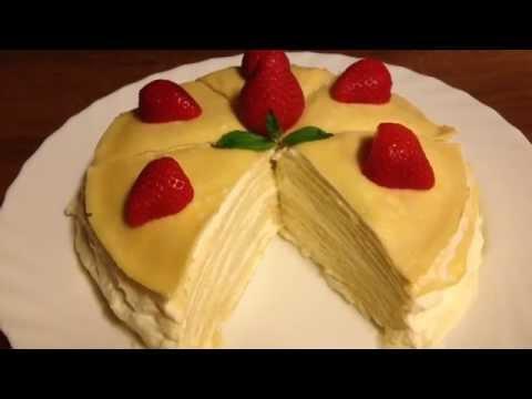 ทำ #เครปเค้ก ครั้งแรก ...
