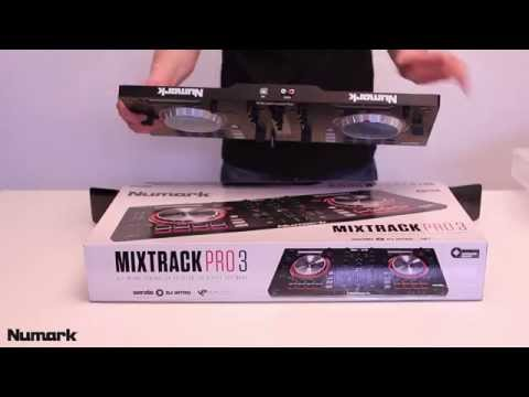 Numark Mixtrack Pro 3 unboxing i test pl
