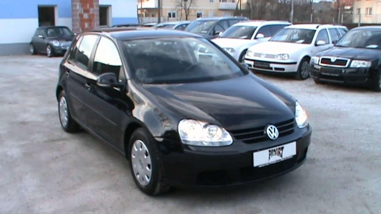 2005 VW Golf Champion 1.9 TDI Review,Start Up, Engine, and In Depth Tour - YouTube