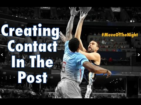 Marc Gasol NBA #MoveOfTheNight #26: Post Creating Contact and Hook Shot | Dre Baldwin