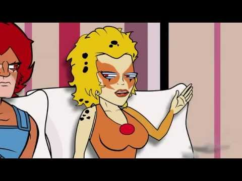 Cartoon Hook-ups: Lion-o And Cheetara video