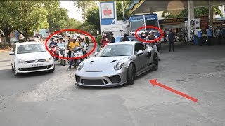 Hyderabad's Latest Porsche GT3RS Pulling Attention | India