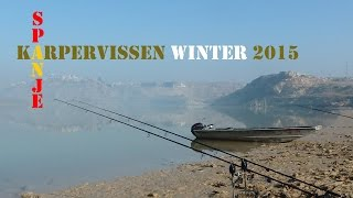 Karpervissen in december 2015 op de spaanse rivier Ebro - Carp fishing on the Spanish river Ebro