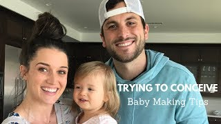 Trying To Conceive - Our Baby Making Tips