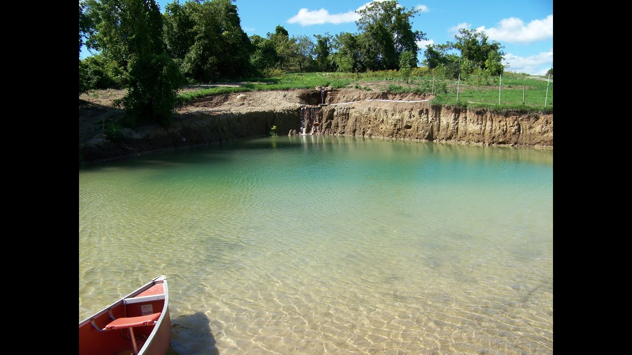 Building A Swimming Pool In A Lake : Building your own private beach natural swimming pond
